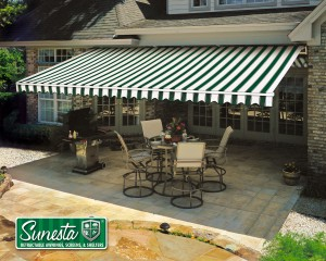 Enjoy The Beauty Of Your Backyard With A Sunesta Retractable Awning, Shelter,  Or Screen From Gutter Helmet Of Minnesota. The Sunesta Awning And Outdoor  ...