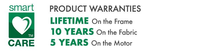 Sunesta Product Warranties